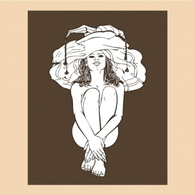 Kobieta w dużym kapeluszu | Fototapeta