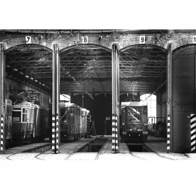 Fototapeta hangar
