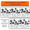 Fototapeta ornamet kwiatów | między szafki do kuchni