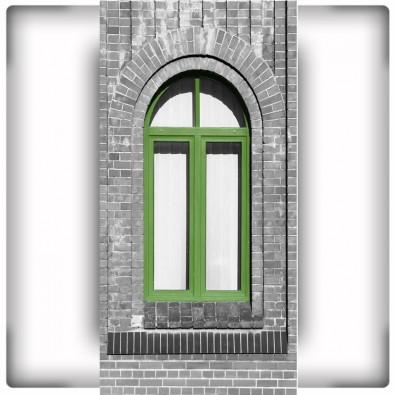 Fototapeta zielone okno