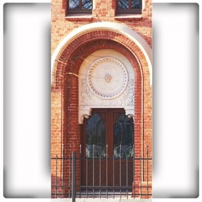 Fototapeta stylowa fasada budynku