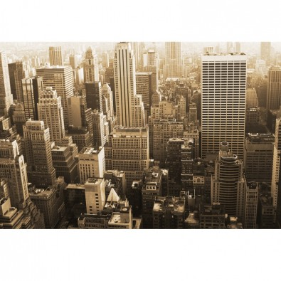 Fototapeta New York w sepii