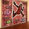 Fototapeta Rap, Hip Hop na szafę