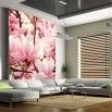 Fototapeta sonata magnolii do nowoczesnego salonu