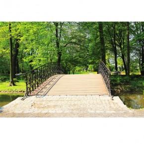 Fototapeta drewniany mostek