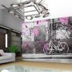 Fototapeta na ścianę - mania rowerowania