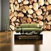 Fototapeta otoczaki - ozdoba ściany w salonie