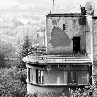 Fototapeta dach kamienicy