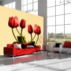 Tapeta czerwone tulipany