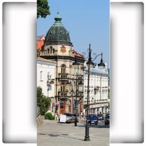 Fototapeta uliczka w Przemyślu