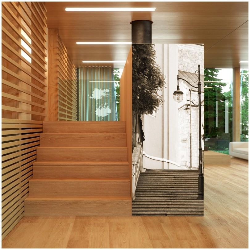 Zaawansowane Fototapeta wąskie schody - dekoracyjne fototapety Art.widi.pL AB74