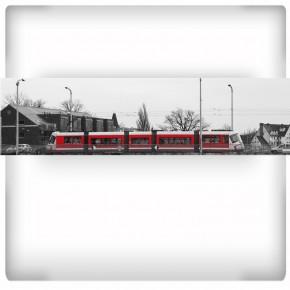 Fototapeta nowoczesny tramwaj