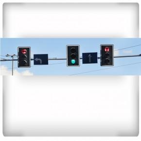 sygnalizatory uliczne - panoramiczna