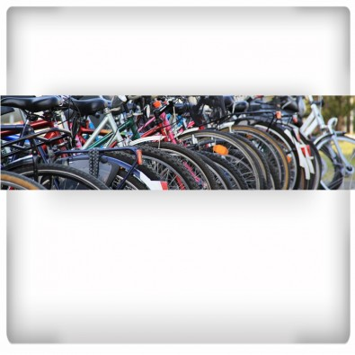 Fototapeta rowerowa panorama