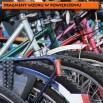 Fototapeta panoramiczna zaparkowane rowery