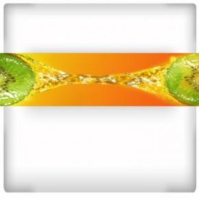 Fototapeta owoce w wodzie