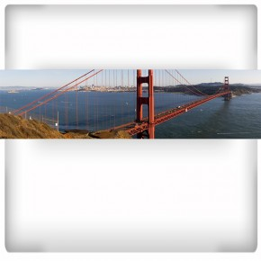 Fototapeta Golden Gate do kuchni