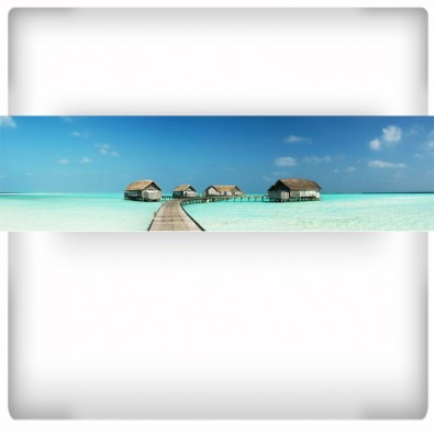 Fototapeta pejzaż tropikalny - panoramiczna