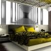Fototapeta panorama tunelu w sypialni - optyczne powiększenie