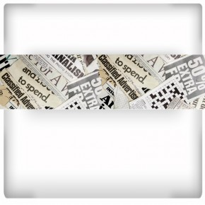 Fotapeta gazety - panoramiczna