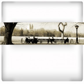 Fototapeta Central Park - panoramiczna