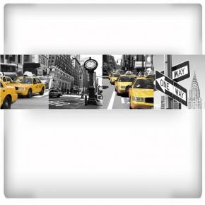 kolaż zdjęć Nowego Jorku