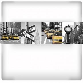 kolaż zdjęć ulice New York