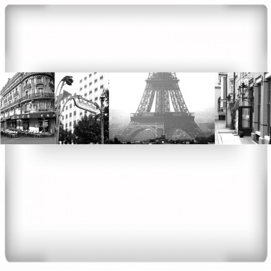 Fototapeta Paryż - kolaż