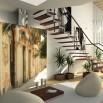 Fototapeta na ścianę pod schody - palma w uliczce