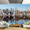 Fototapeta nowojorska panorama w saonie