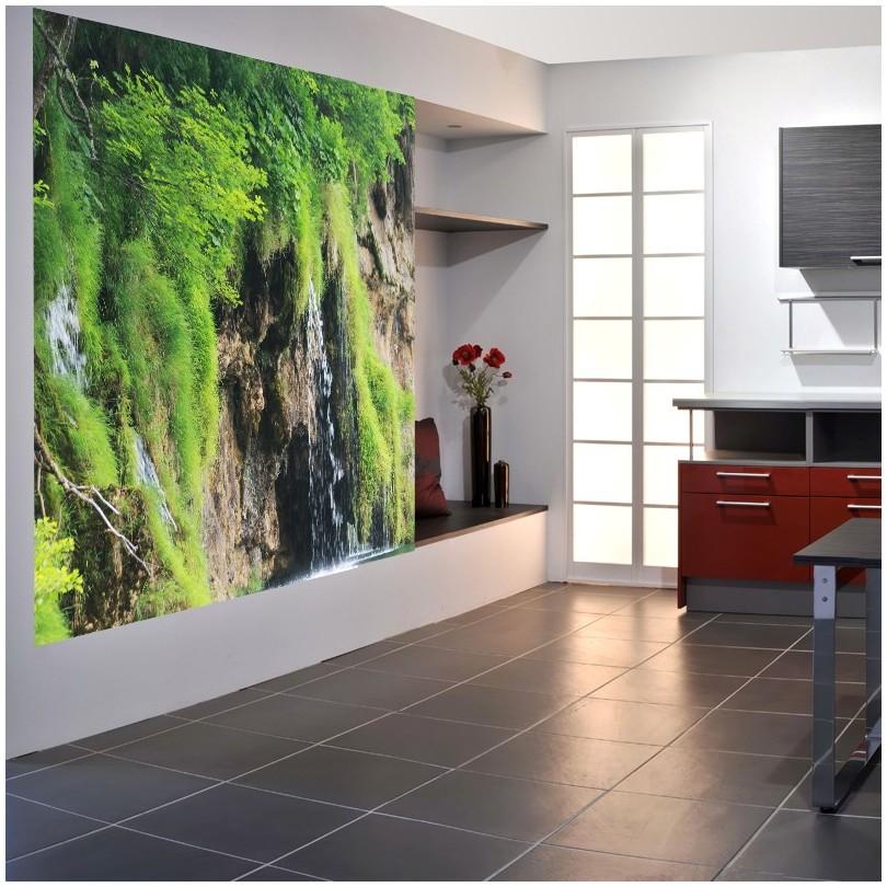 fototapeta na ścianę wodospad dekoracyjne fototapety art