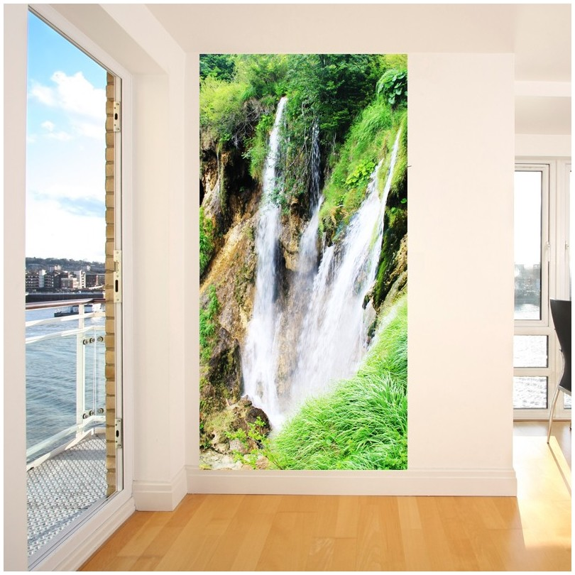 Fototapeta Wodospad Do łazienki Dekoracyjne Fototapety Art