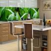 Fototapeta zielona trawa w kuchennej aranżacji