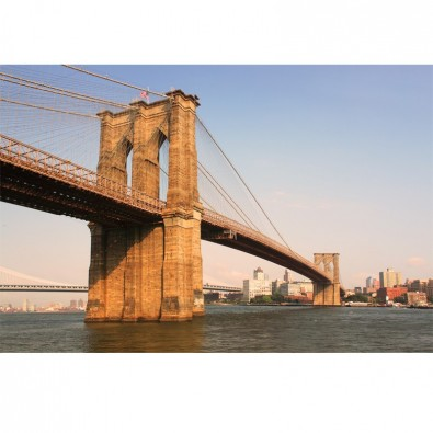 Fototapeta Brooklyn most za dnia | fototapety New York