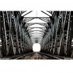 Fototapeta z motywem mostu kolejowego
