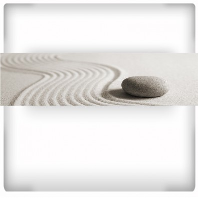 Fototapeta kamień na piasku