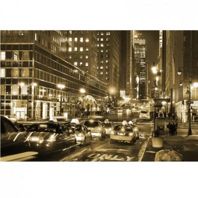 Fototapeta nocna ulica