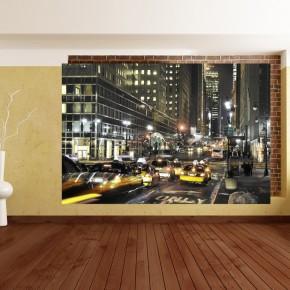 Fototapeta skrzyżowanie w Nowym Jorku