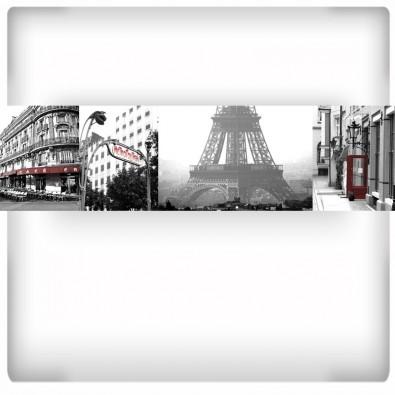Fototapeta paryski kolaż