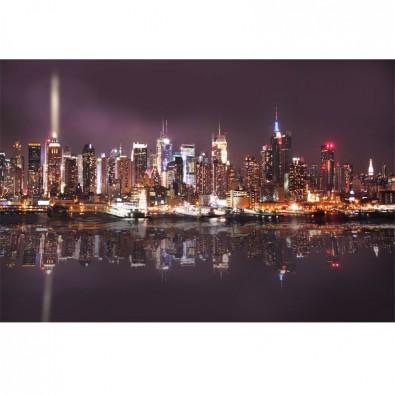 Fototapeta Atlantic Manhattan nocą   fototapety New York