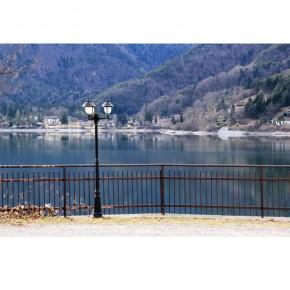 Fototapeta widok na jezioro