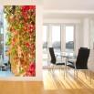 Fototapeta girlanda liści na ścianie w przedpokoju