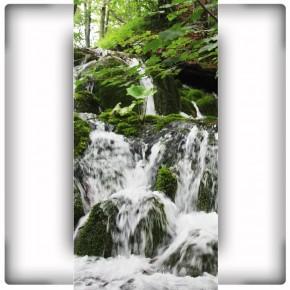 krajobraz wodospad