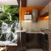 Fototapeta krajobraz wodospad