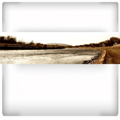 San | Fototapeta rzeka