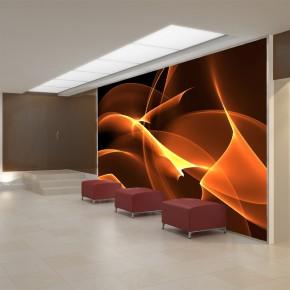 Ogień | Fototapeta abstrakcyjna
