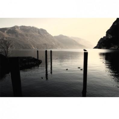Riva del Garda przystań | Fototapeta Włochy