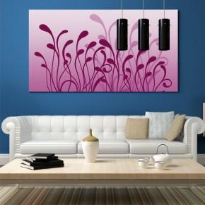 Różowa abstrakcja | fototapeta do pokoju
