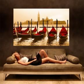 Fototapeta Wenecja gondole do salonu
