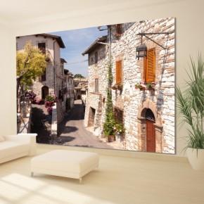 Fototapeta romantyczna uliczka